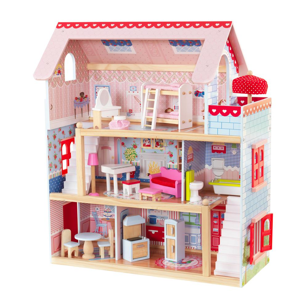 KidKraft Chelsea Doll Cottage Play Set
