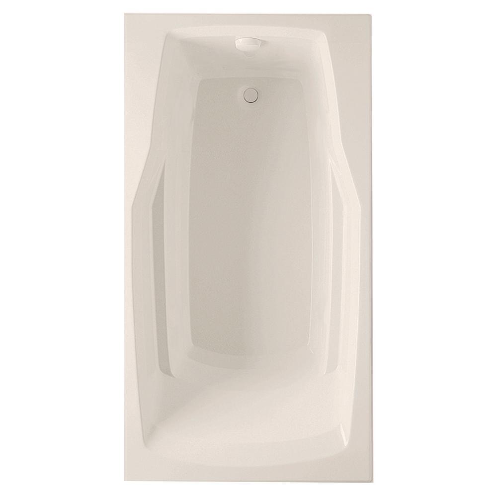 Derby 60 in. Acrylic Reversible Drain Rectangular Drop-In Soaking Bathtub in
