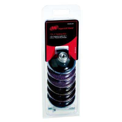 2 in. Complete Surface Preparation Kit with Backing Pad and Post