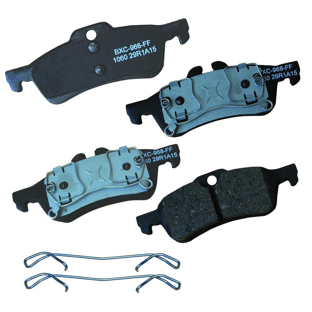 Rear STOP Ceramic Disc Brake Pad fits 2002-2008 Mini Cooper