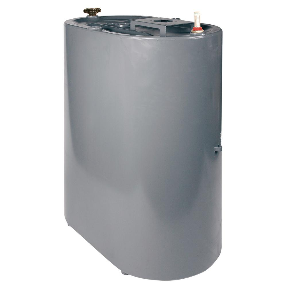 Liquidynamics 275 Gal Vertical Oval Oil Storage Tank With Vent Fill Cap And Tank Gauge 901060v 03 The Home Depot