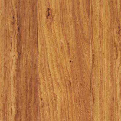 Take Home Sample - Polished Straw Maple Laminate Flooring - 5 in. x 7 in.