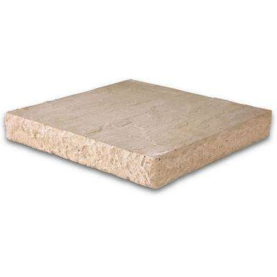 Slate 12 in. x 12 in. x 1.5 in. Cream Concrete Paver (48-Pieces/48 sq. ft./Pallet)