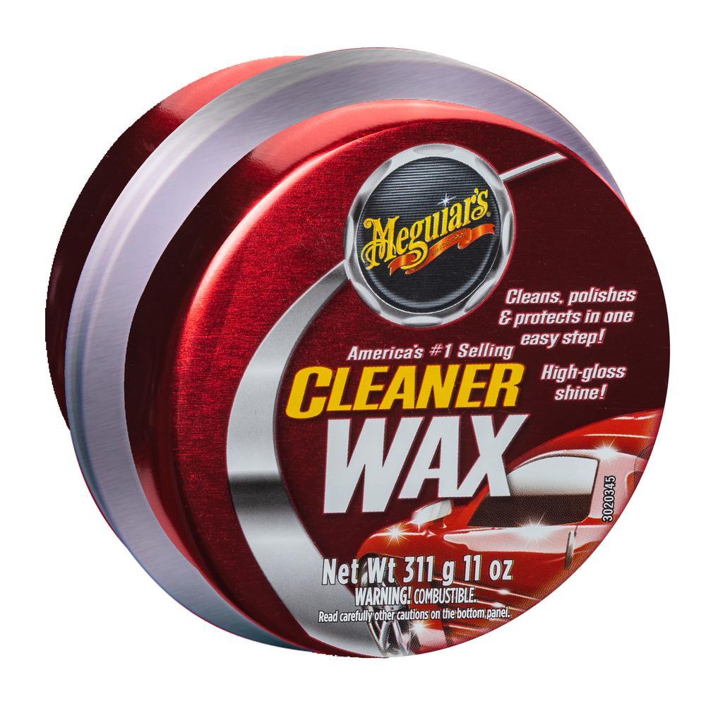 11 oz. Automotive Cleaner Wax Paste