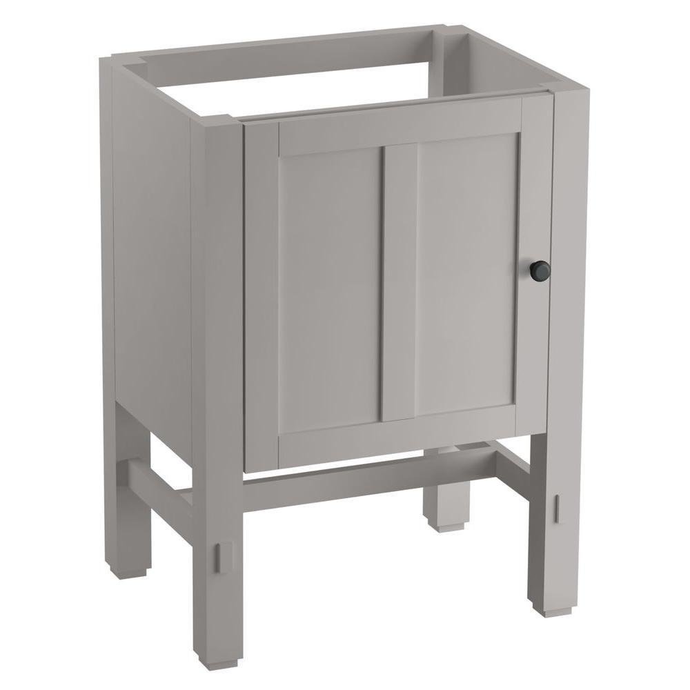 Tresham 24 in. W x 18-1/4 in. D x 32-1/2 in. H Vanity Cabinet in Mohair Grey