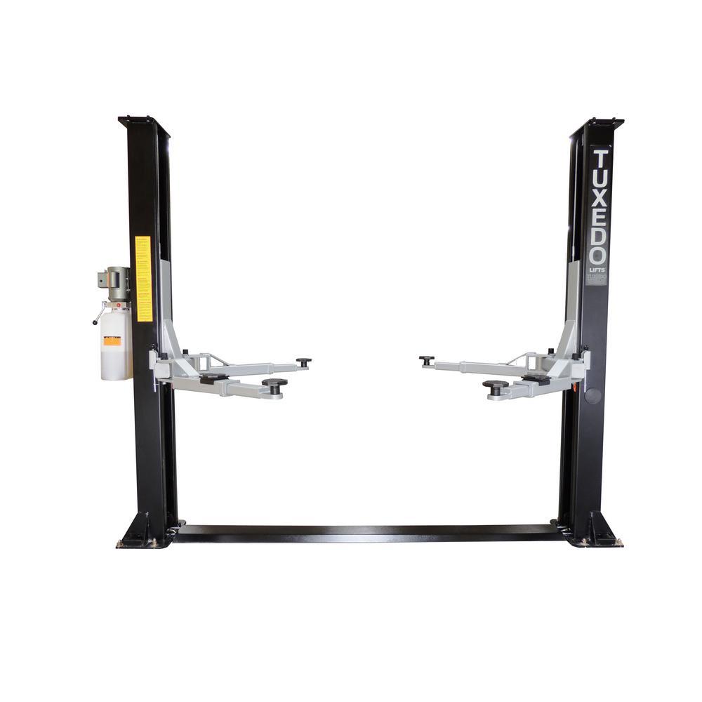 Symmetric 2 Post Floor Plate 9,000 lbs.