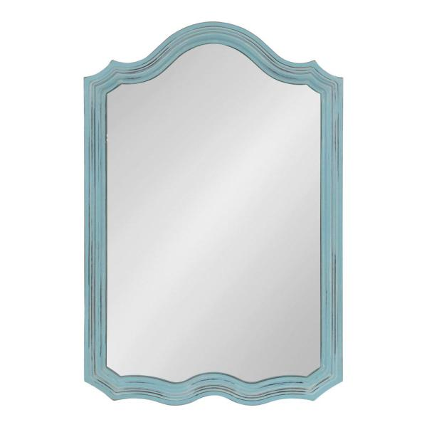 Kate and Laurel Abrianna Arch Blue Wall Mirror 214386