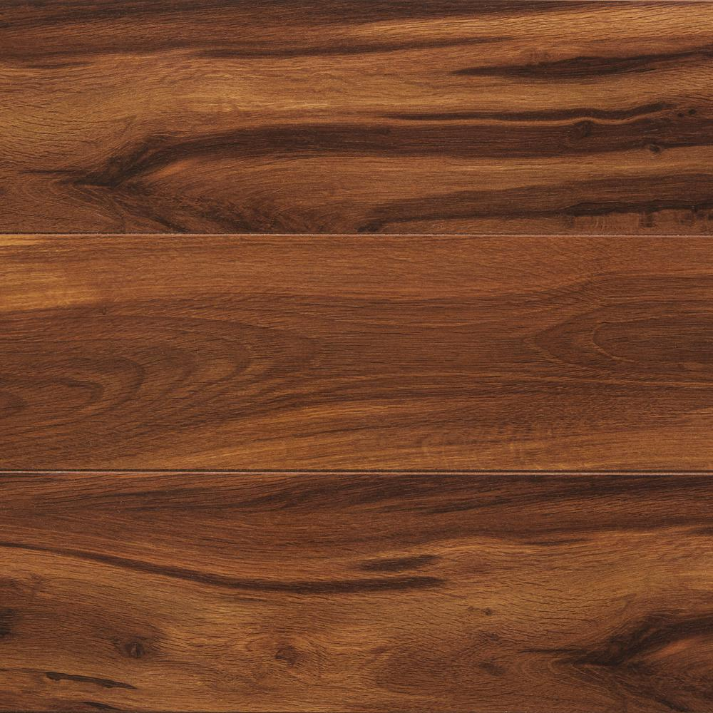 Home Decorators Collection High Gloss Kapolei Koa 12 mm Thick x 5-9/16 in. Wide x 47-3/4 in. Length Laminate Flooring (885.60 sq. ft./pallet)