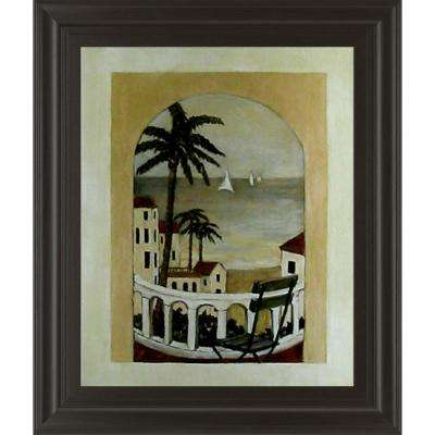 "22 in. x 26 in. ""Island Hideaway"" by Ruane Manning Framed Printed Wall Art"