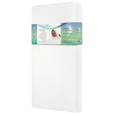 Comfort  Lite Plus Fiber Crib And Toddler Mattress I Waterproof I Green Guard Gold Certified I Removable Cover