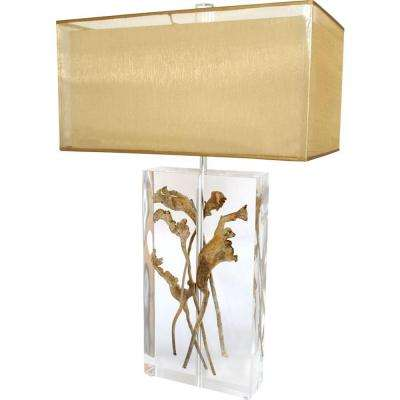 Century 32 in. Clear Table Lamp