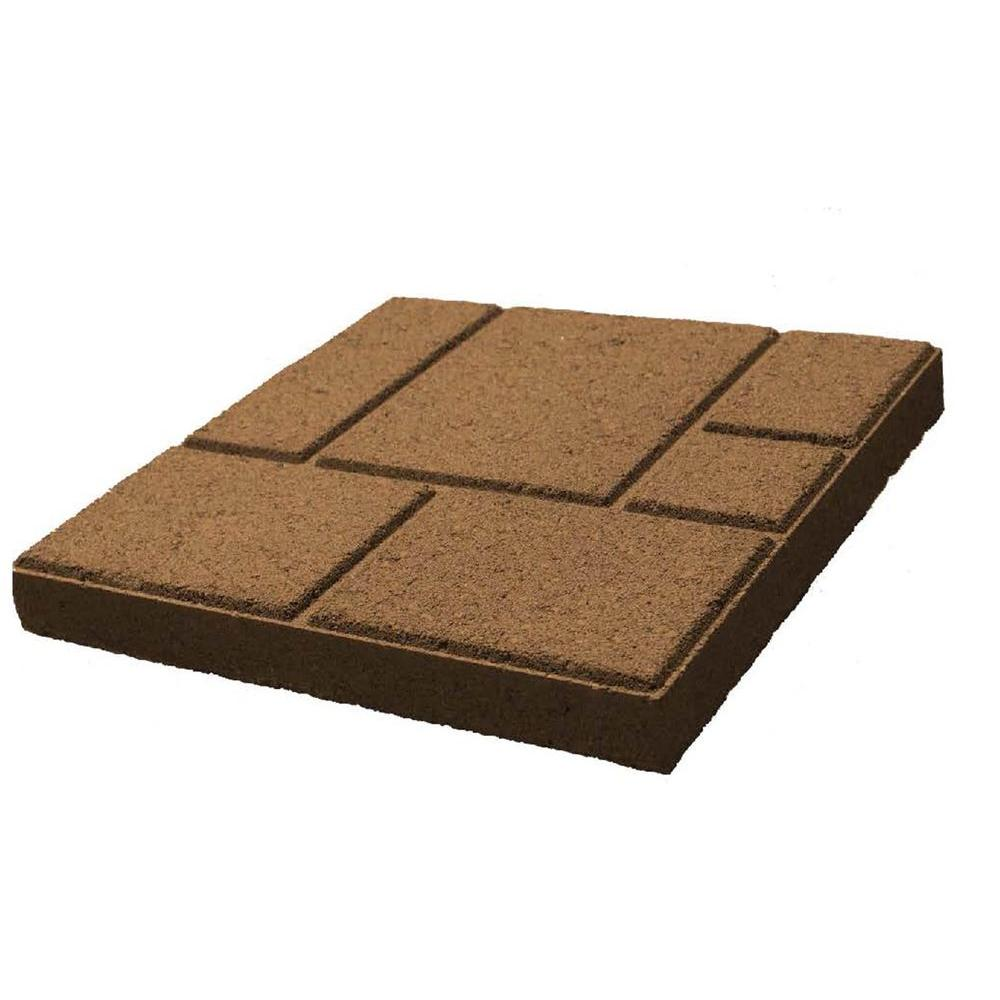 Mission Concrete Products 16 in. x 16 in. Square Saratoga Concrete Step Stone