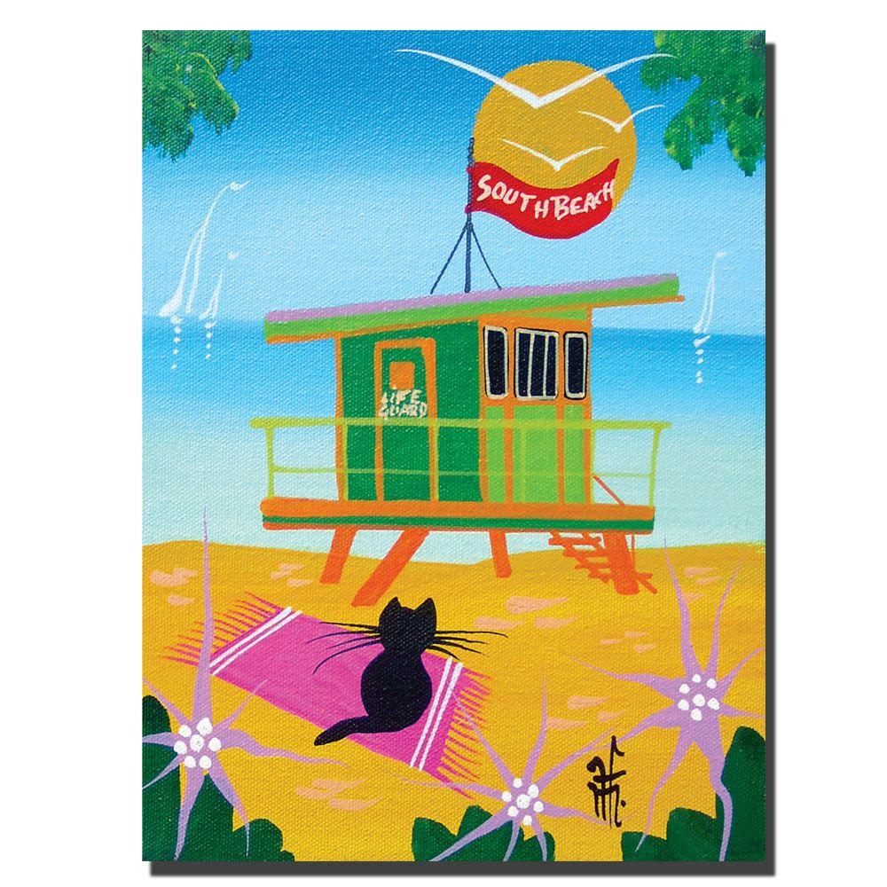 24 in. x 32 in. Life Guard Canvas Art