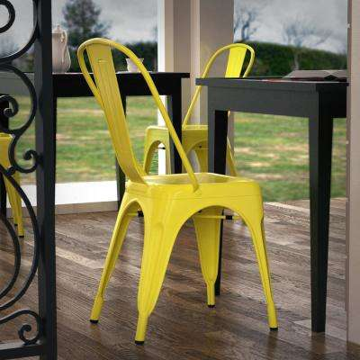 Trattoria Yellow Side Chair (Set of 4)