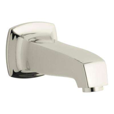 Margaux Wall-Mount Bath Spout in Vibrant Polished Nickel