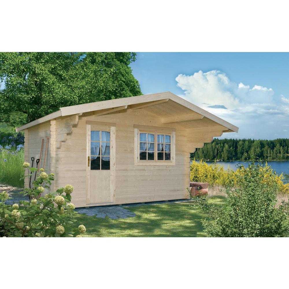 Lillevilla Allwood Escape 9 Ft X 12 1 2 Cabin Kit