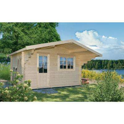 Allwood Escape 9 ft. x 12-1/2 ft. Cabin Kit