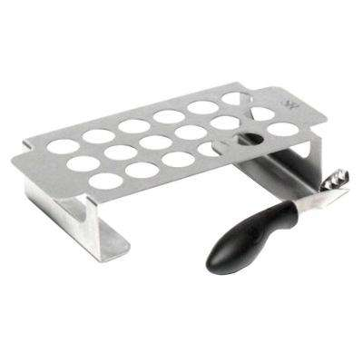 Best of Barbecue Stainless Steel Jalapeno Rack and Corer Set