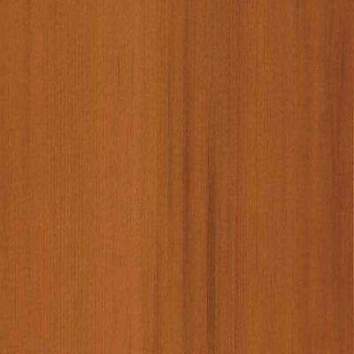 4 in. x 3 in. Wood Garage Door Sample in Light Cedar with Natural 078 Stain