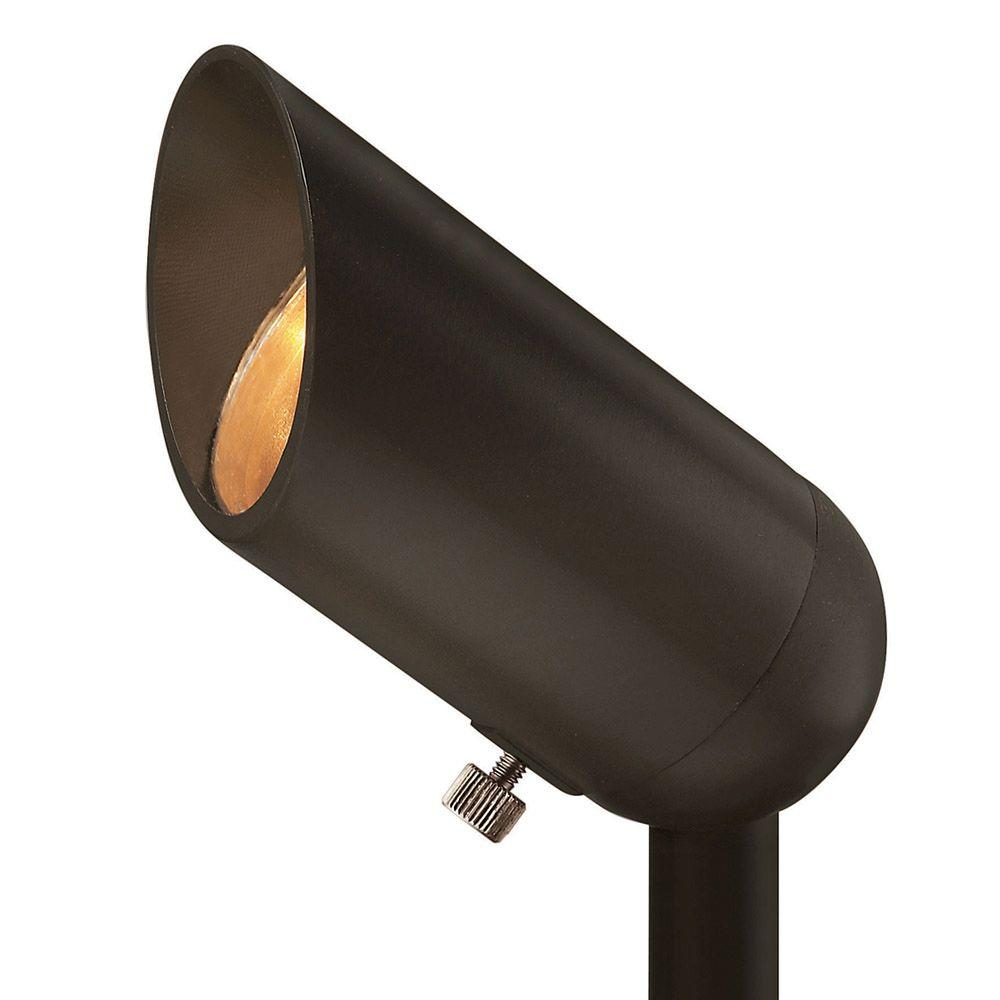 Plug in landscape lighting outdoor lighting the home depot 12 volt 5 watt led medium beam spot light mozeypictures Images