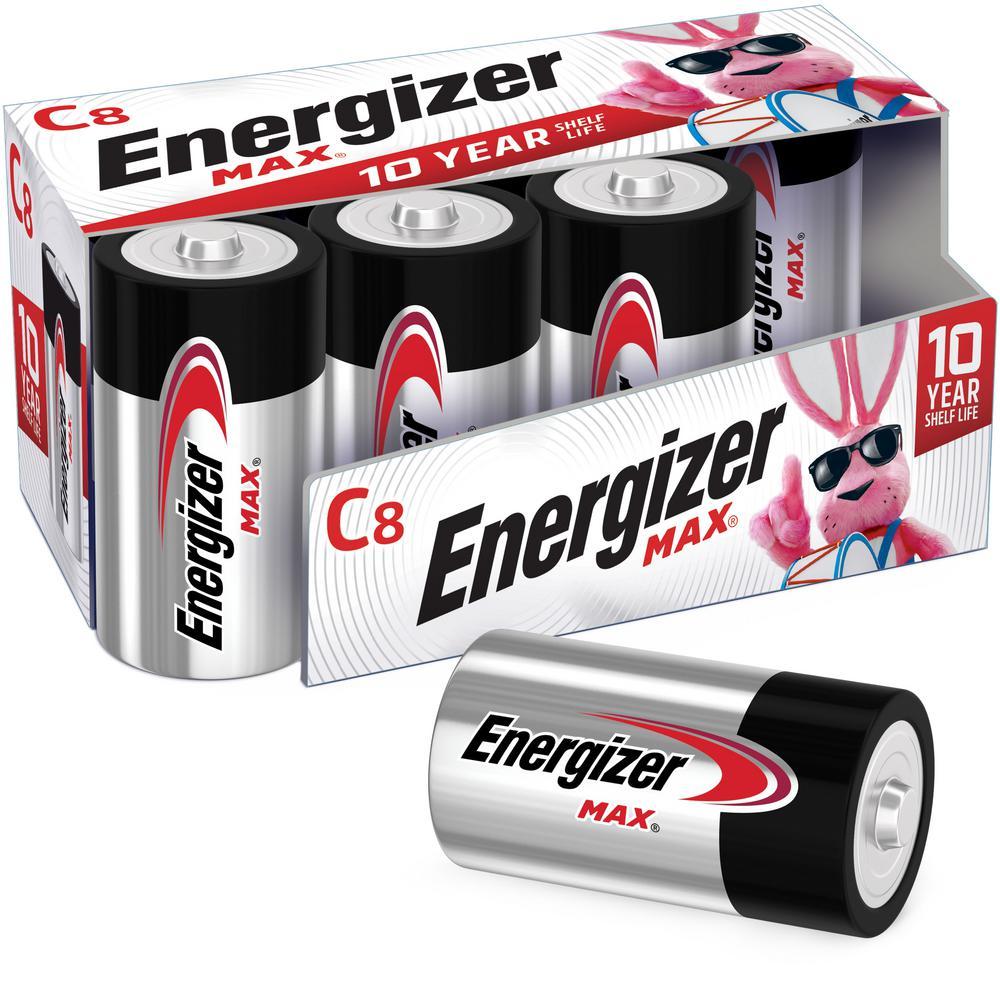 Alkaline C Battery (8-Pack)