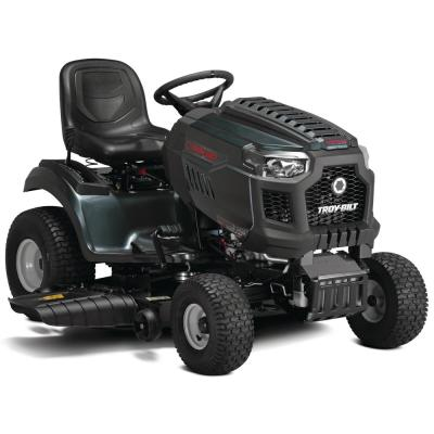 Super Bronco XP 46 in. 679 cc V-Twin Engine Hydrostatic Drive Fabricated Deck Gas Riding Lawn Tractor W/Mow in Reverse