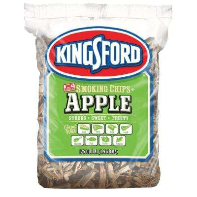 179 cu. in. BBQ Apple Wood Chips