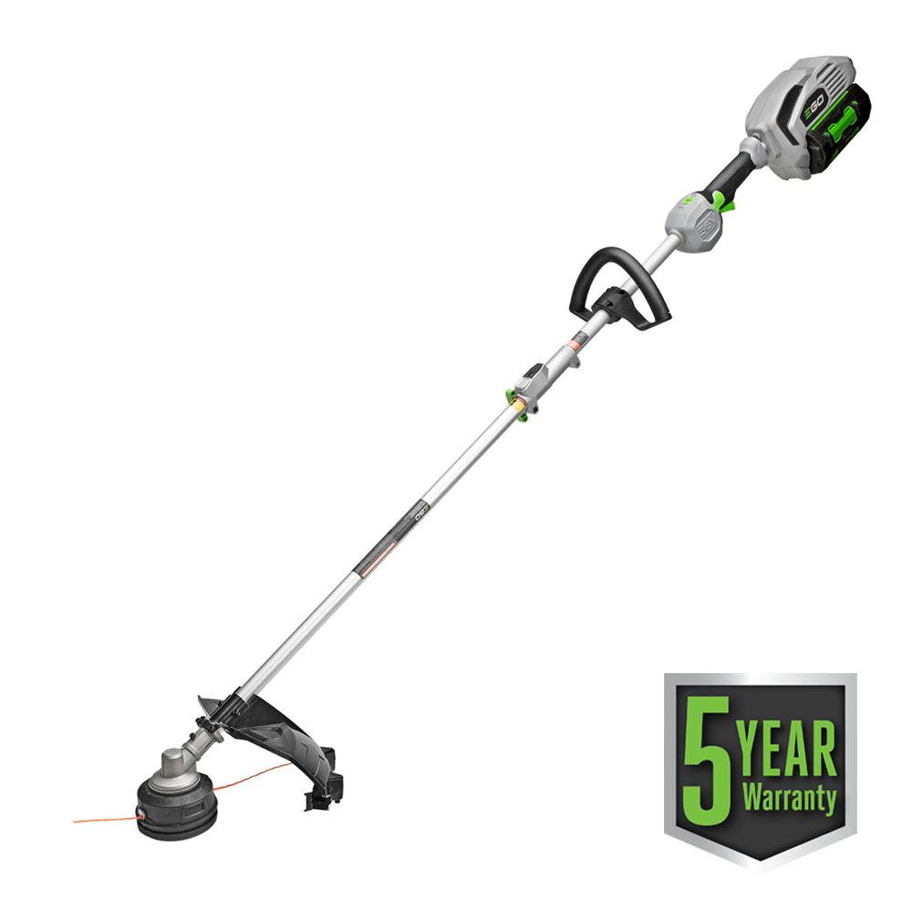 POWER+ 15 in. 56-Volt Lithium ion Cordless String Trimmer w/5.0Ah Battery