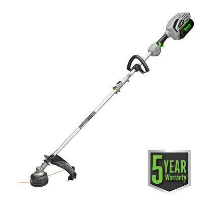 POWER+ 15 in. 56-Volt Lithium ion Cordless String Trimmer w/5.0Ah Battery and Charger for EGO Multi-Head System