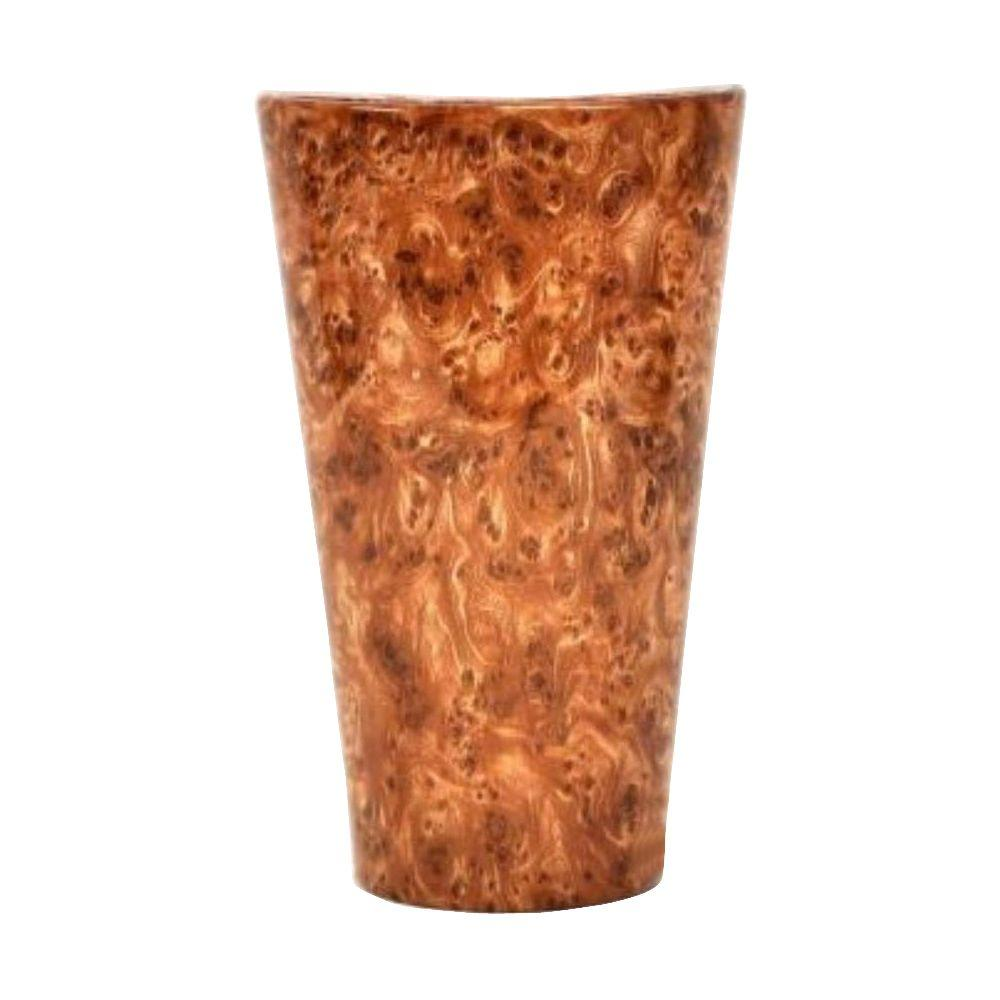 Itu0027s Exciting Lighting Vivid Series Wall Mounted Indoor/Outdoor Burl Wood Style Battery Operated 5  sc 1 st  Home Depot : battery wall sconce lighting - www.canuckmediamonitor.org