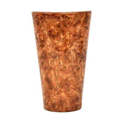 Vivid Series Wall Mounted Indoor/Outdoor Burl Wood Style Battery Operated 5 LED Sconce