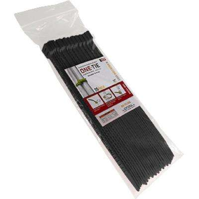 12 in. Cable Ties, Black (25-Pack)