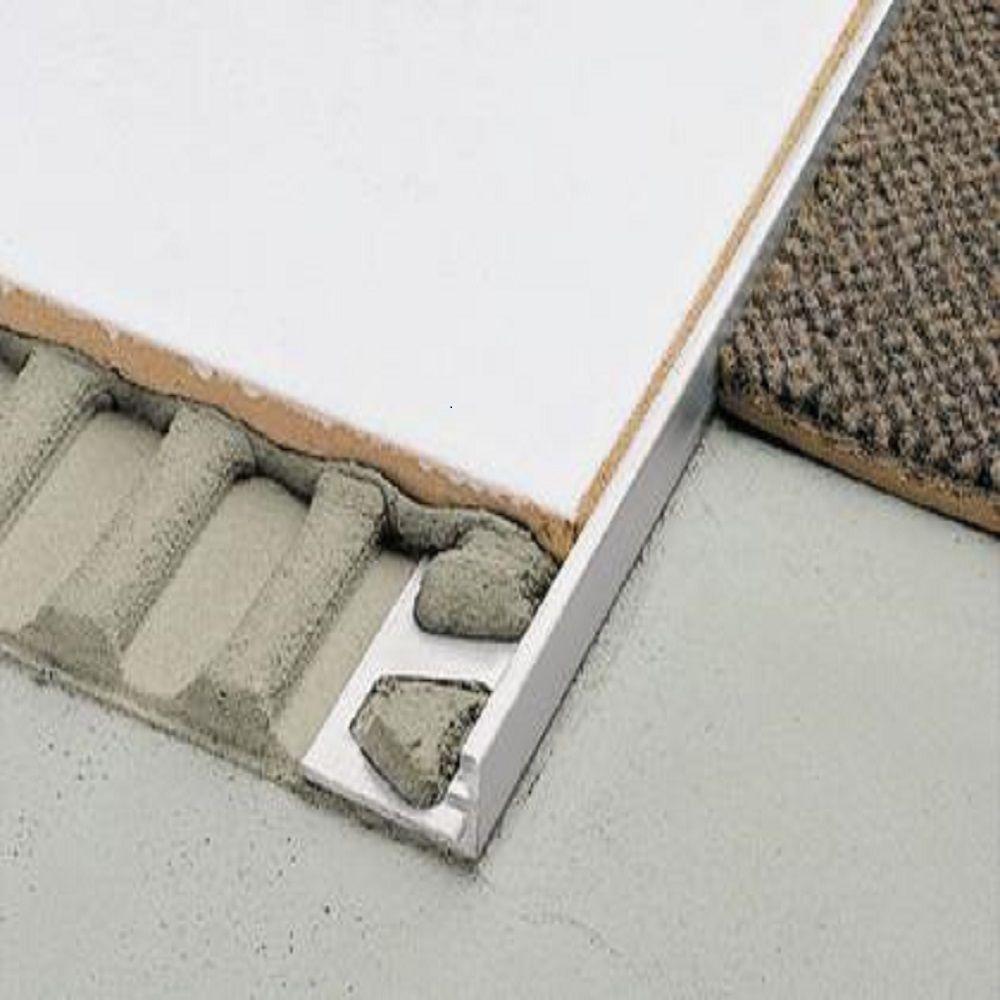 Schluter Schiene Aluminum 3 8 In X