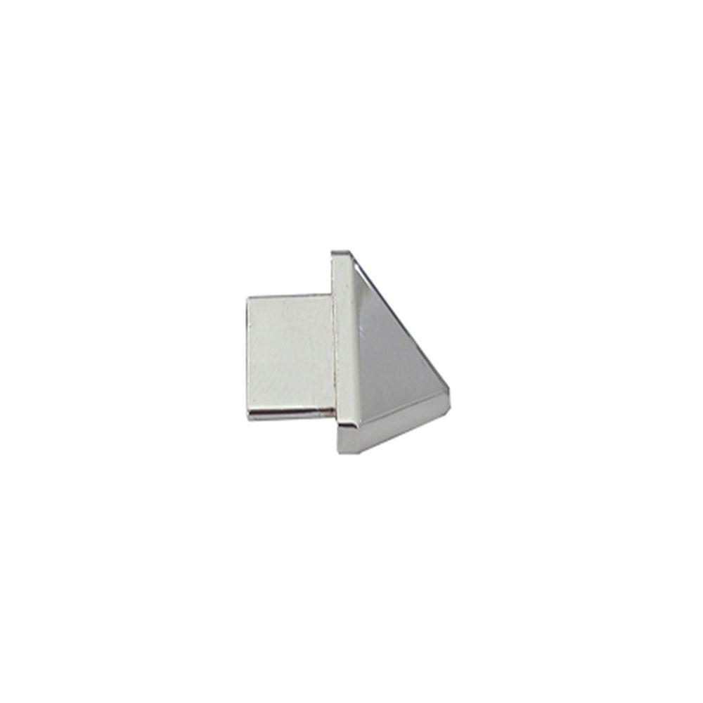 Emac Outside Angle Novobisel Mirror Bright 3/8 in. Complement Aluminum Tile Edging Trim