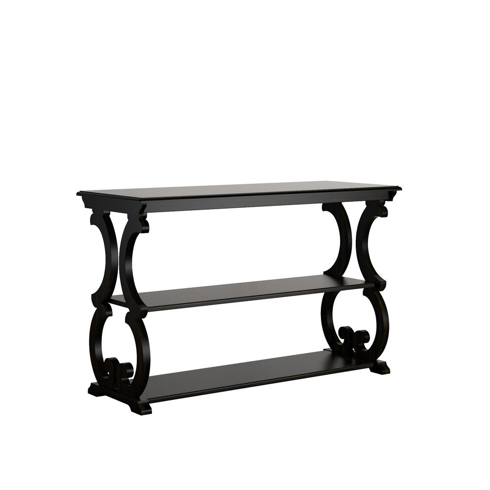 Kelsey Antique Black Console