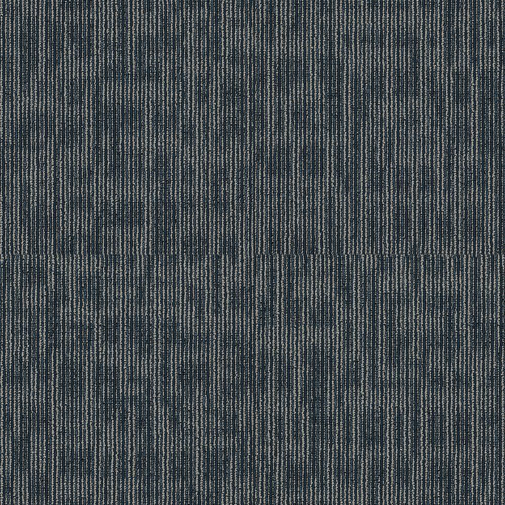 Generous Marine Loop Commercial 24 in. x 24 in. Glue Down Carpet Tile (20 Tiles/Case)
