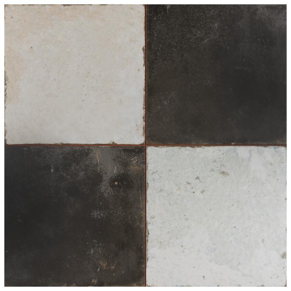 Kings Damero 17-5/8 in. x17-5/8 in. Ceramic F/W Tile