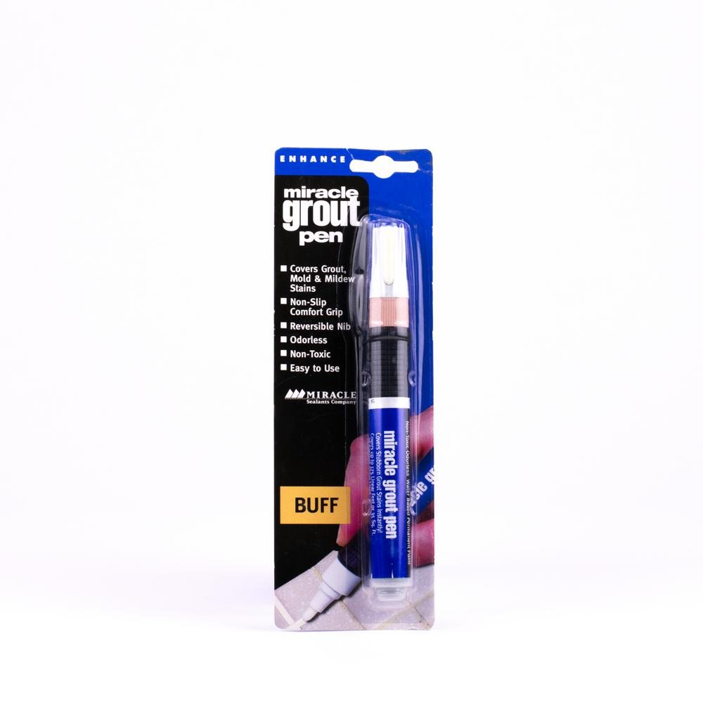 Miracle Sealants Grout Pen-GRT PEN BUFF - The Home Depot