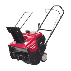 Click here to buy Honda HS720AM 20 inch Single-Stage Gas Snow Blower by Honda.