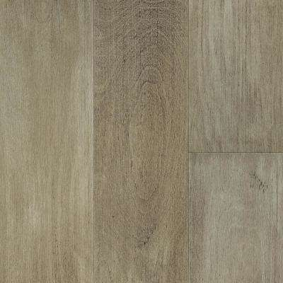 Waterproof Flooring Latte Light Birch 6.5 mm T x 6.5in.W x 48in.L Click Engineered Hardwood Flooring (21.67 sq.ft./case)