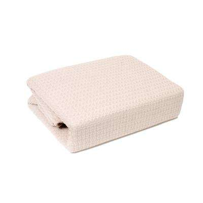 Marquis Ivory 100% Cotton Twin Blanket