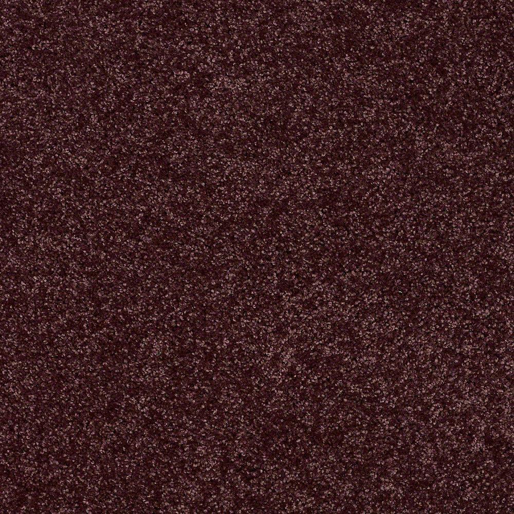 Carpet Sample - Palmdale II 12 - In Color Grape Koolaid 8 in. x 8 in.