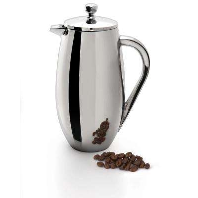 Studio 3-Cup Double Wall Coffee and Tea French Press