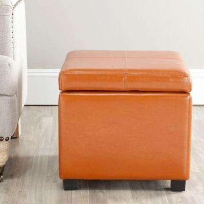 Madison Saddle Storage Ottoman