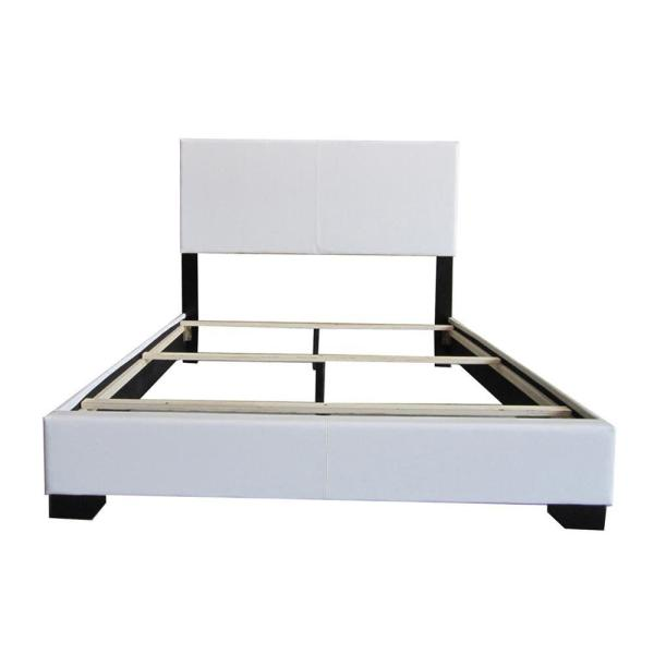 ACME Furniture Ireland White Queen Upholstered Bed 14390Q
