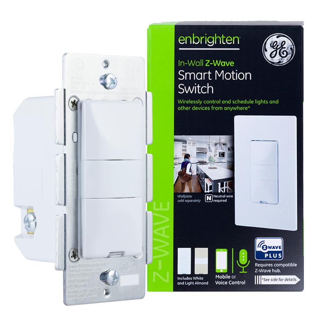 GE Enbrighten Motion Sensor Switch Z-Wave