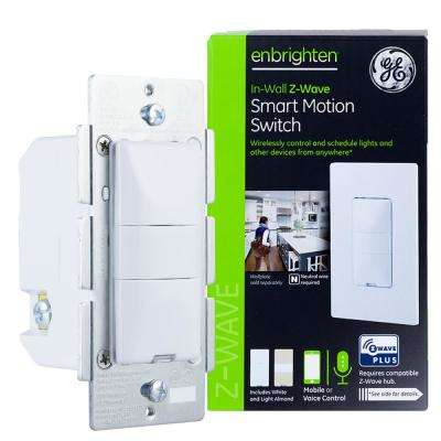 Enbrighten Z-Wave Plus Smart Lighting Control Motion Switch