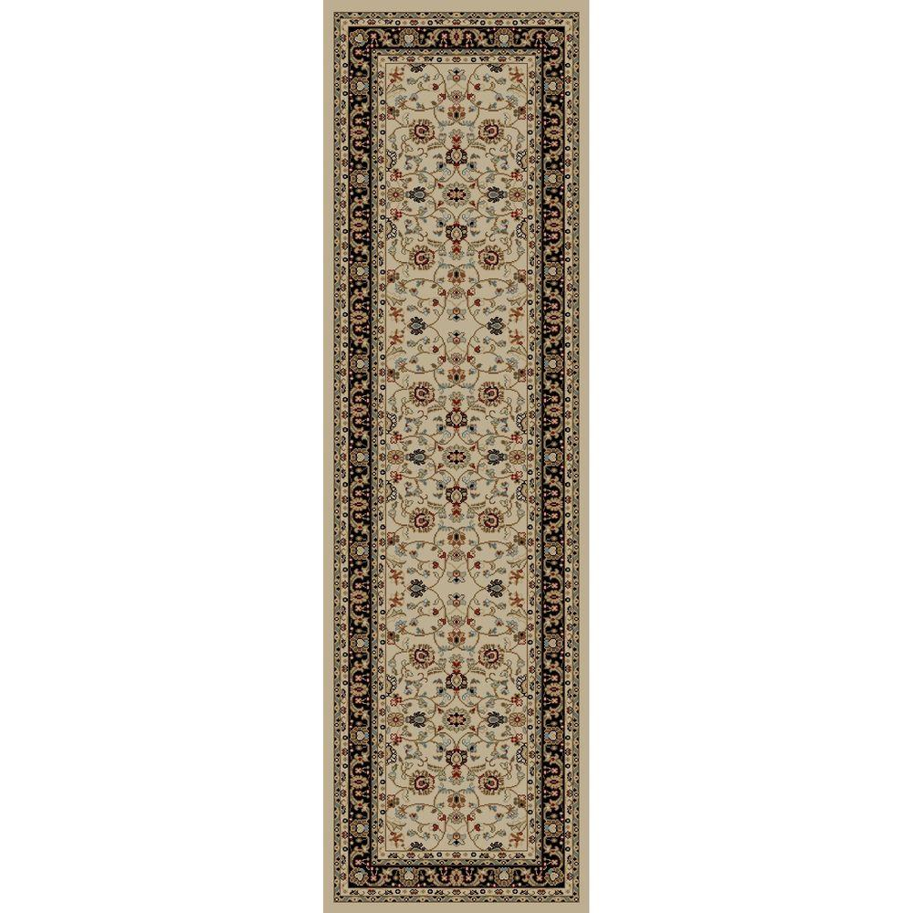 Jewel Marash Ivory 2 ft. 3 in. x 7 ft. 7