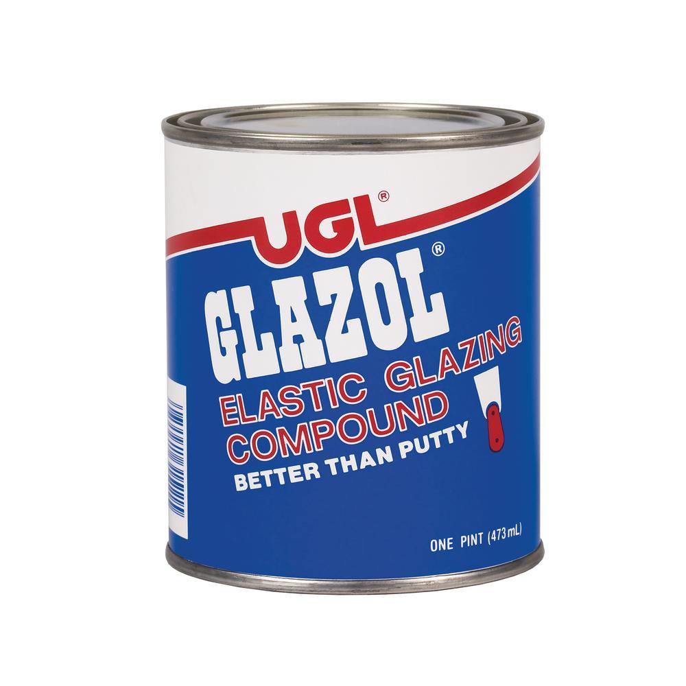 UGL 1 pt. Glazol Glazing Compound (2-Pack)