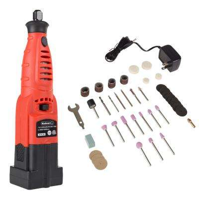 7.2-Volt Cordless 7.75 in. Grinder Rotary Tool Kit